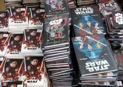 Star Wars illustrated novels for 4th-6th grade readers