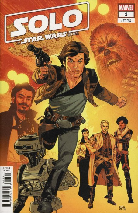 SOLO STAR WARS STORY : Marvel Comic Book