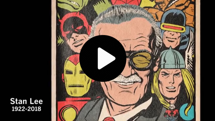 Remembering Stan Lee (link to Video page on LA Times web site)