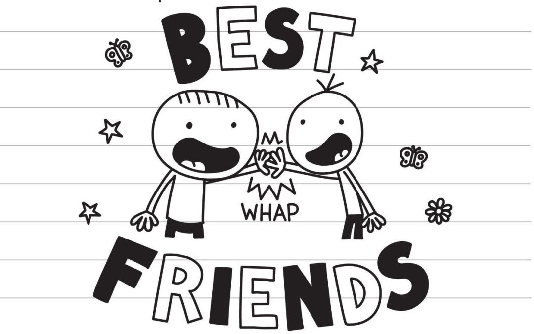 Diary of a Wimpy Kid's Best Friend now has a Diary of an Awesome Friendly Kid