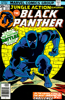 Cover of Jungle Action #23 (Sept. 1976). Art by John Byrne and Dan Adkins