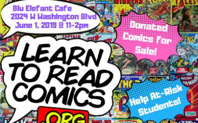 Learn to Read Comics Comic Book Sale