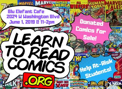 Learn to Read Comics Comic Book Sale
