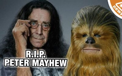 Tribute to Peter Mayhew, Star Wars' Chewbacca