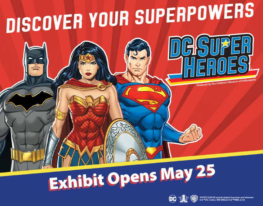 Orange County Discovery Cube Super Heroes