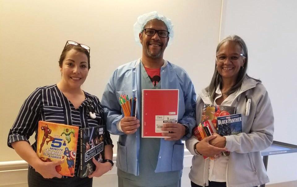 Giving Event at a Local LA Hospital!