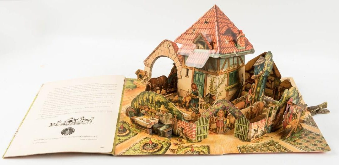 Pop-up books: collectible page-turners in 3-D