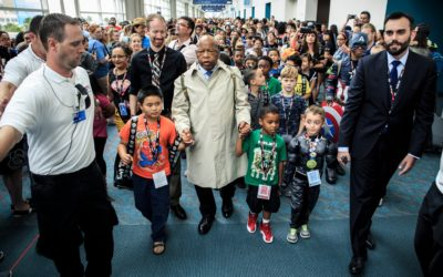 When John Lewis Cosplayed at Comic-Con as His Younger Self
